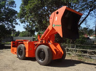Orange Load Haul Dump Machine , Two Cubic Meters underground lhd machines